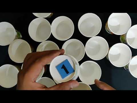 Memory Game With Disposable Cup And Number | One Minute Game | Kitty Party Games