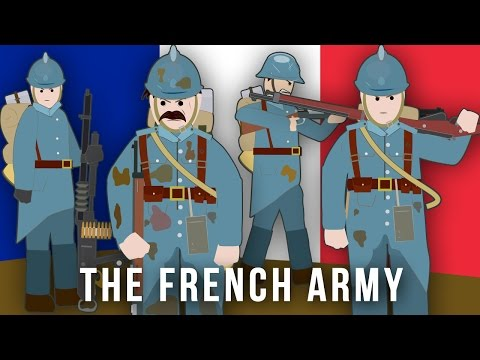 WWI Factions: The French Army