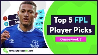 FPL Gameweek 7 | Top 5 Fix Player Picks | Fantasy Premier League 2018/19
