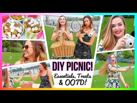 DIY Picnic: Essentials, Treats & OOTD!!