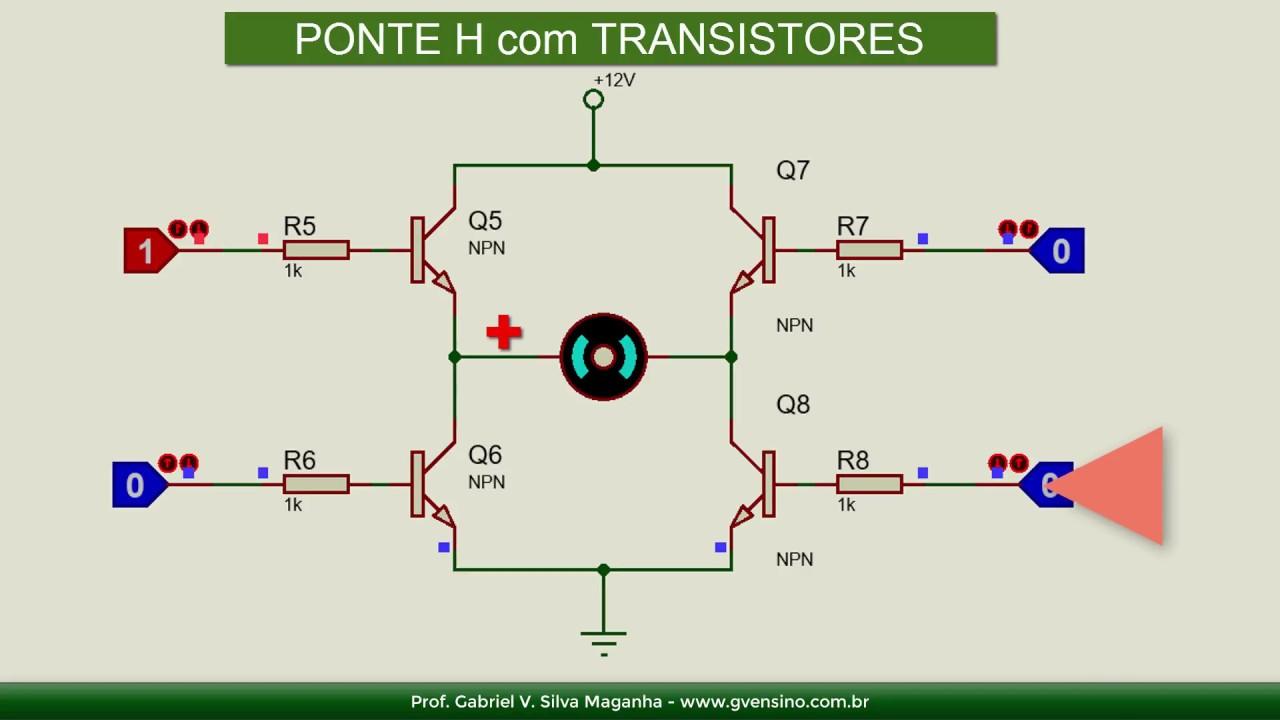 Circuito H : Conheça a ponte h e seus principais circuitos youtube