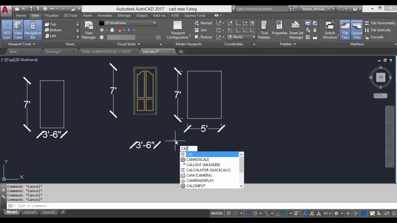AutoCAD 2017 Advanced Training Tutorial Lessons - YouTube