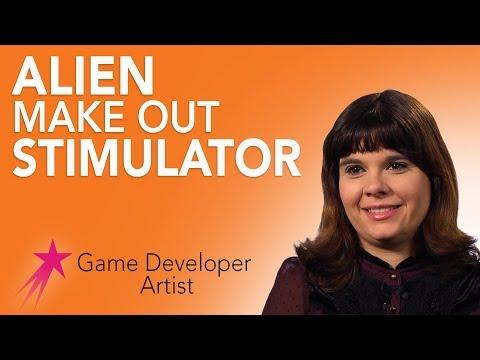 Game Developer/Artist: Alien Make Out Game - Dawn Rivers Career Girls Role Model