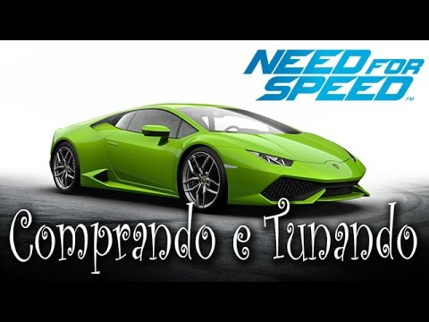need for speed comprando e tunando a lamborghini hurac n. Black Bedroom Furniture Sets. Home Design Ideas