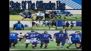 On The State Of The Detroit Lions Offensive Line.