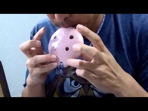 """My neighbor Totoro"" played with 6-hole pendant ocarina."