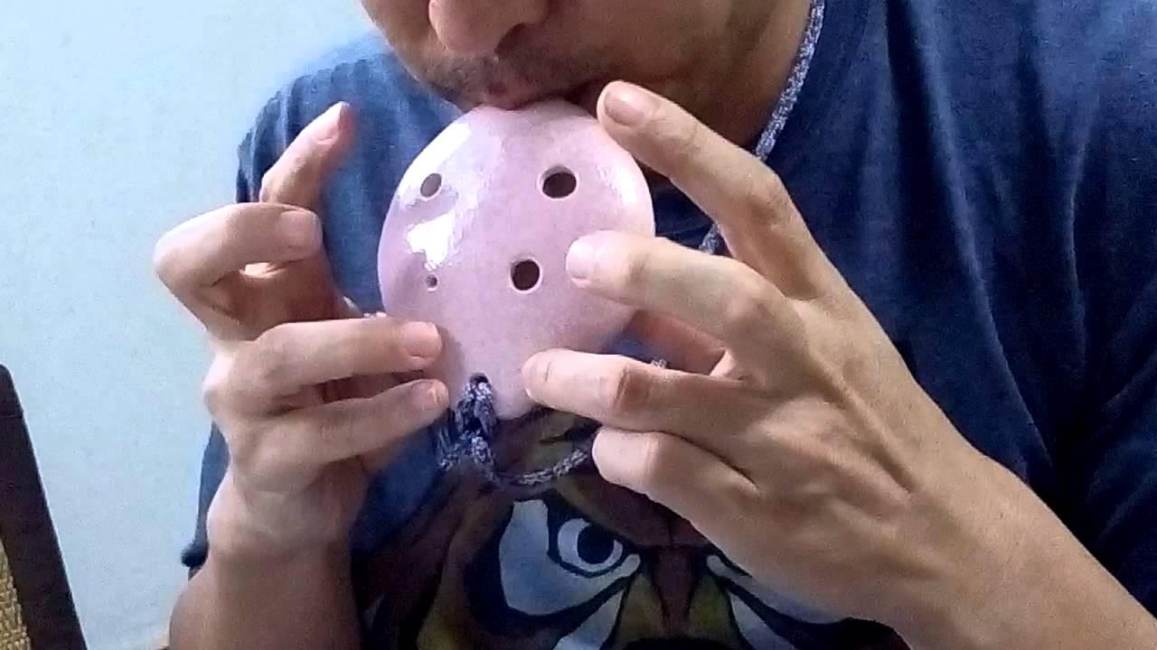 My neighbor totoro played with 6 hole pendant ocarina youtube my neighbor totoro played with 6 hole pendant ocarina aloadofball Image collections