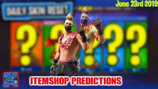 June 23rd Fortnite Item Shop Predictions (New Summer Drift and beach Bomber skin in todays shop?)
