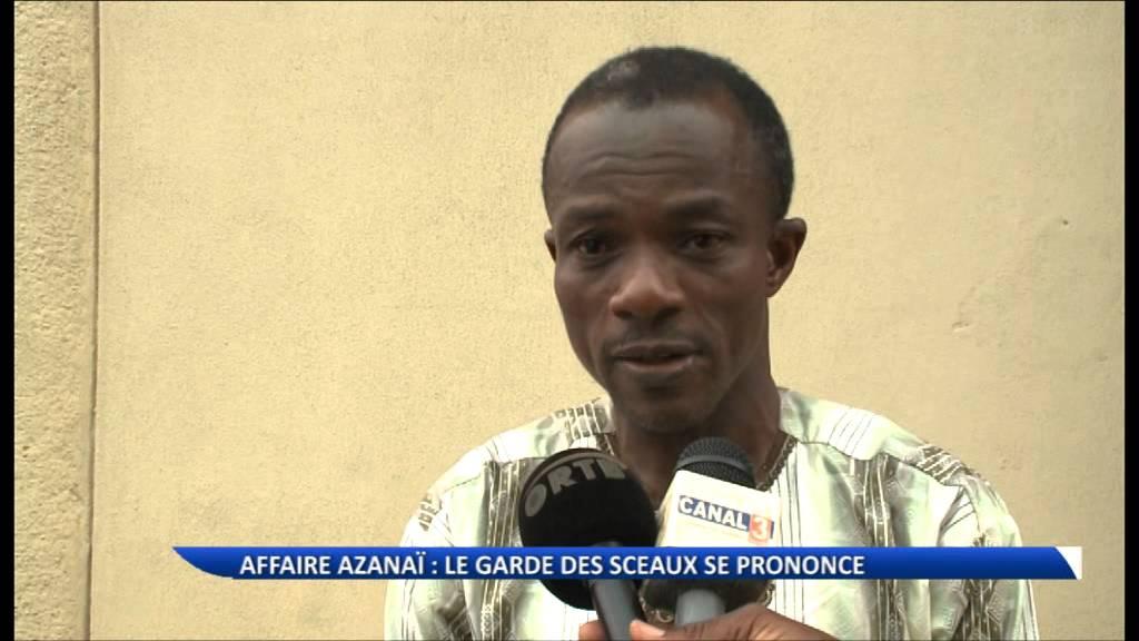 Explications du ministre de la justice sur la supposée tentative d'arrestation de Candide Azann