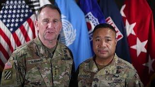 US Forces Korea commander, senior enlisted leader discuss COVID-19