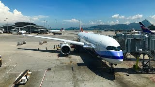 Trip Report: China Airlines A350 (Economy Class) | Hong Kong to Taipei