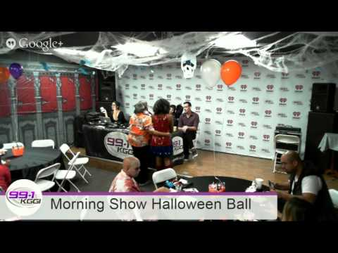 99.1 KGGI Halloween Ball 2014 feat. Psychic Medium Bill Phillips and Magician Justin Rivera