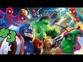 SPIDERMAN Cartoon Hulk and Iron Man + Captain America PART #3 - LEGO Marvel Superheroes Universe in