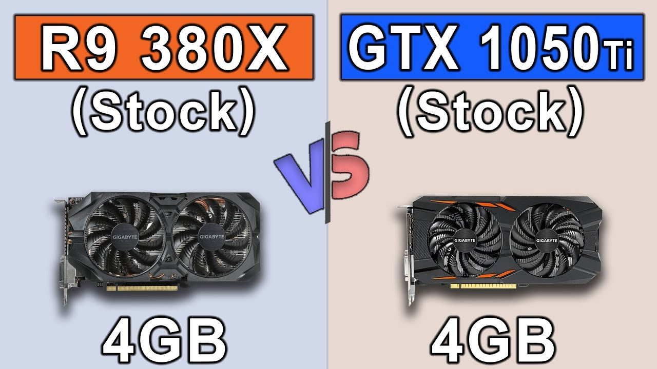 R9 380X vs GTX 1050 Ti | New Games Benchmarks