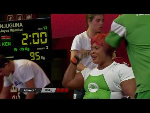 Women's Up to 79kg | Mexico City 2017 World Para Powerlifting Championships