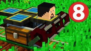 Ферма Пшеницы и Супер Зелья! - Сборка Майнкрафт с модами #8 (Rustic | Steves Carts 2)