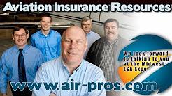 Aircraft insurance, light sport aircraft, experimental aircraft and flight school insurance.