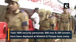 Security beefed up as Sabarimala temple set to open gates for women today