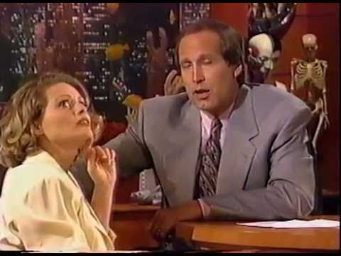 BEVERLY D'ANGELO HAS LOL FUN WITH CHEVY CHASE