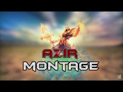 Azir Montage - Best Azir Plays S8 | League Of Legends