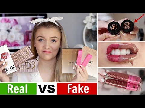 Testing FAKE Makeup I Bought on Ebay for $5! *FAIL*