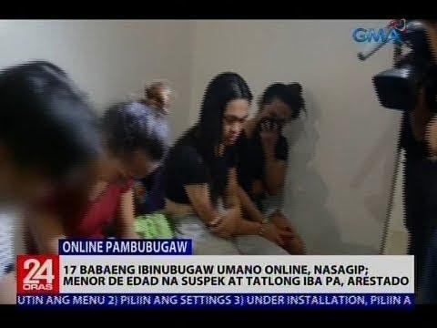 17 babaeng ibinubugaw umano online, nasagip; Menor de edad na suspek at tatlong iba pa, arestado