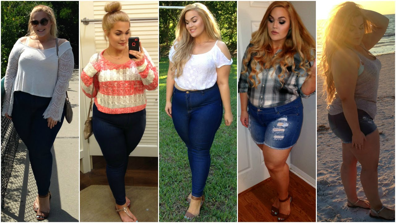 The Curvy Diaries Spring Break Outfits Of The Week Plus Size Youtube