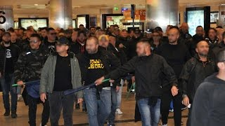 Napoli Ultras was escaped in metro station in Istanbul