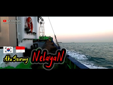 Fishing Korea - Begini Kerjaanku Sebagai Nelayan Dinegri Orang Full Sehari || Abk Semang Jeju