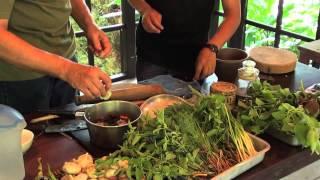 Joy Ngeuamboupha cooks Orlarm in Luang Prabang, Laos