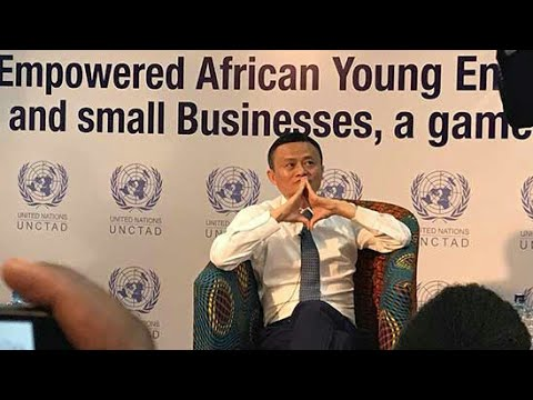 JACK MA IN KENYA ;Realizing Africa's Youth Potential