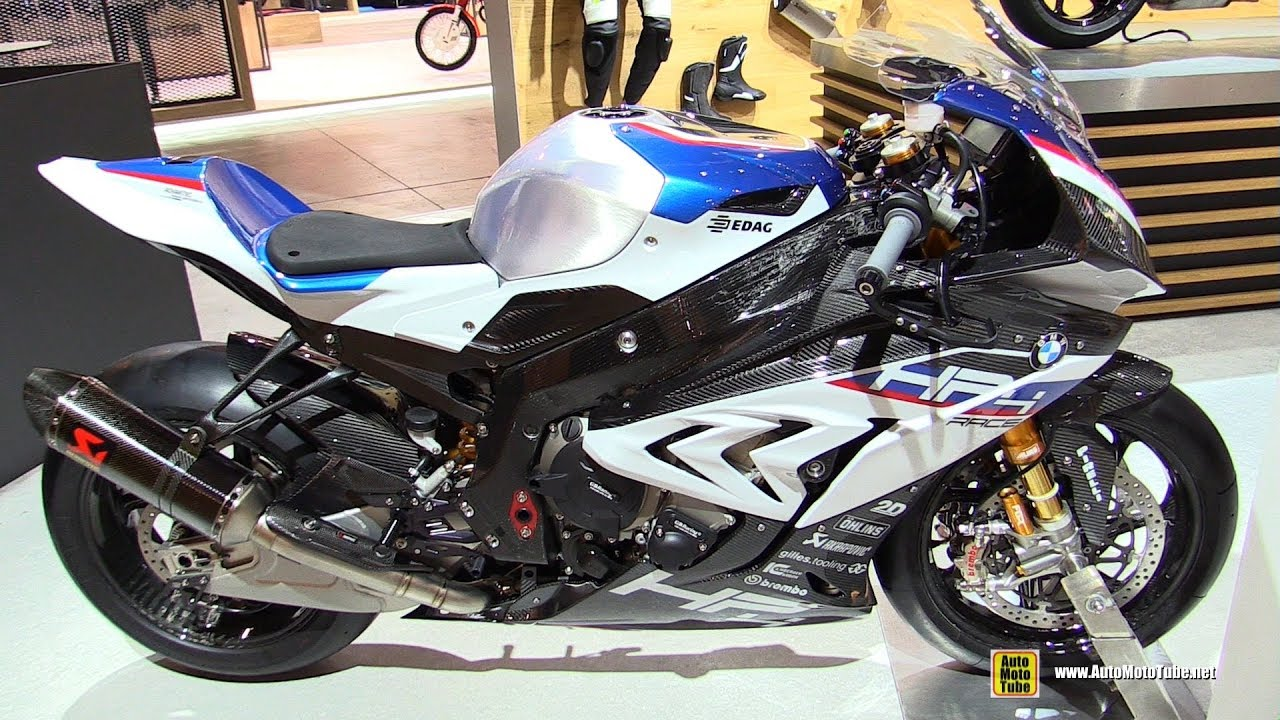 2019 Bmw S1000rr Hp4 Race Walkaround Debut At 2018 Eicma