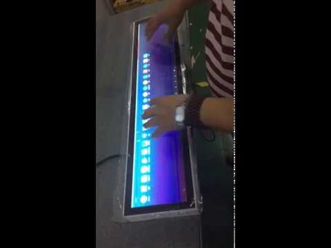 Felehoo Long bar lcd display Resize Stretched Interactive touch screen