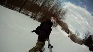GoPro Berkshire East Snow Boarding