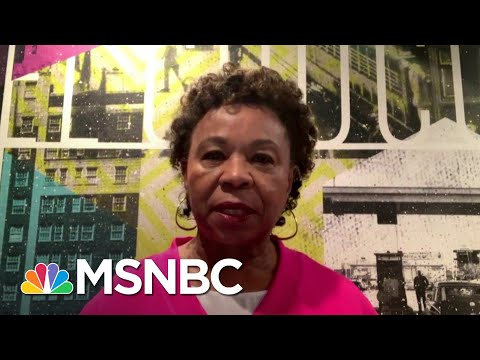 """Rep. Barbara Lee on GA Voter Suppression Tactics: """"These Are Fundamental Attacks On Our Democracy"""""""