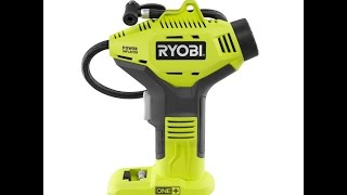 Product Review - Ryobi P737 Power Inflator