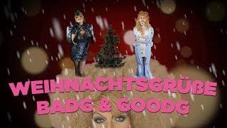 Weihnachtsgrüße von GoodG und BadG - THEKENSCHLAMPE TV loves you!
