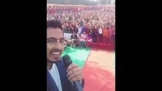 Download Hindi Video Songs - Amber Vashisht live ik supna at KMV jalandhar