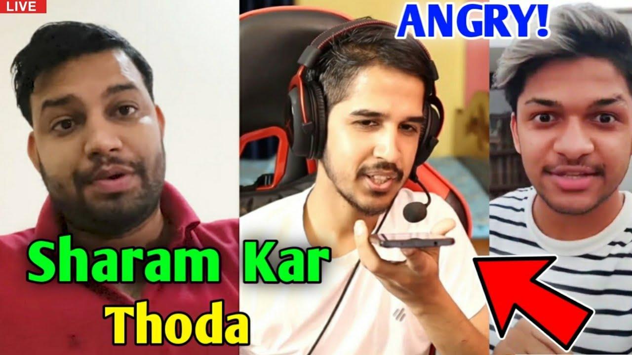 Desi Gamer & Jonty Gaming VERY ANGRY! - Why?   Lokesh Gamer, Badge 99 react on Fake Account