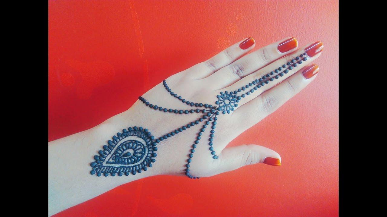 Jewellery Henna Floral Mehndi Design Naush Artistica