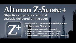 Altman Z-Score Scanner - Android App