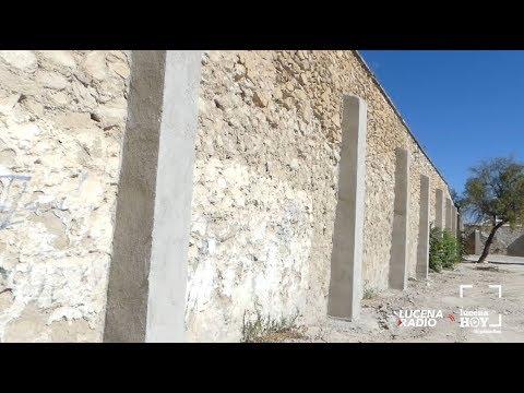 VÍDEO: Presentadas las obras de reconstrucción del muro del Carmen. En breve se iniciará el parque.