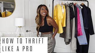 HOW TO THRIFT LIKE A PRO +STYLING  2019 | TIPS & TRICKS