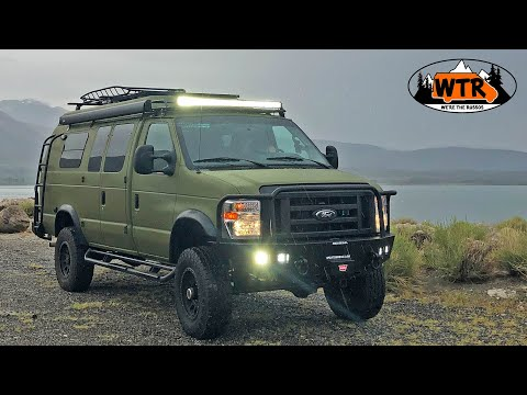 Heavy Duty 4x4 Adventure Van Walk Through | Sportsmobile 4x4