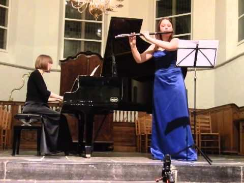 C. Franck Sonata 3/4 Anne Brackman & Cathelijne Noorland