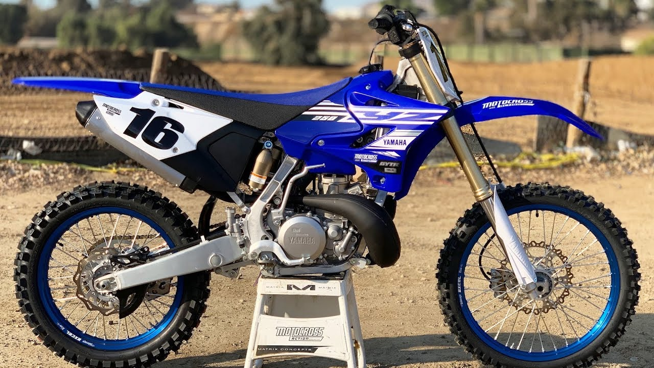 First Ride 2019 Yamaha Yz250 2 Stroke Motocross Action Magazine