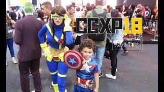 Comic Con Experience CCXP 2018 - Cosplay Music Video   Ser Pai