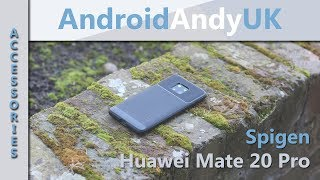 Huawei Mate 20 Pro Spigen Rugged Armour Black Case