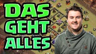Clash of Clans Rathaus 9 Angriffstaktik im Clankrieg | coc Rh 9 bei eleVen Original | coc deutsch