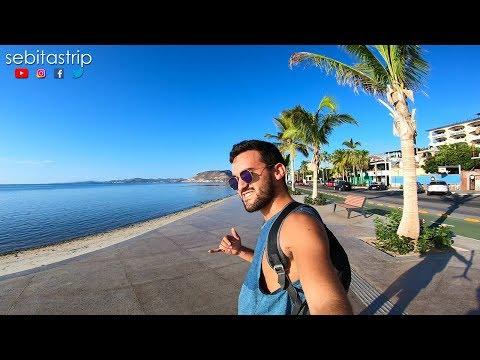 LA PAZ BCS - Recorriendo El Malecón De Mi Nuevo Destino Favorito En México @sebitastrip
